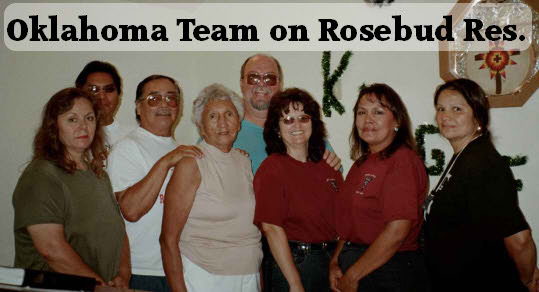 OK Team on Rosebud Reservation