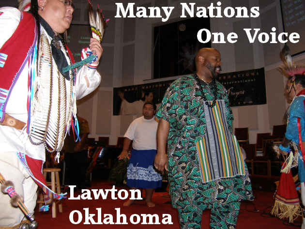 Many Nations One Voice Conference Lawton